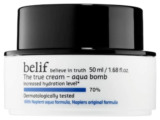 True Cream Belif Aqua Bomb Review