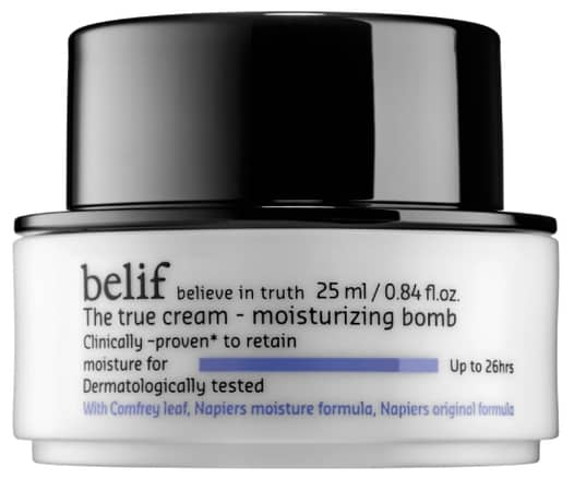 True Cream Belif Moisturizing Bomb Review
