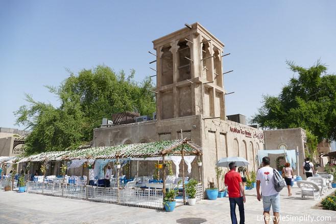 Al Bastakiya Quarter and Dubai Museum