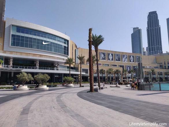 The Dubai Mall & Dubai Fountain