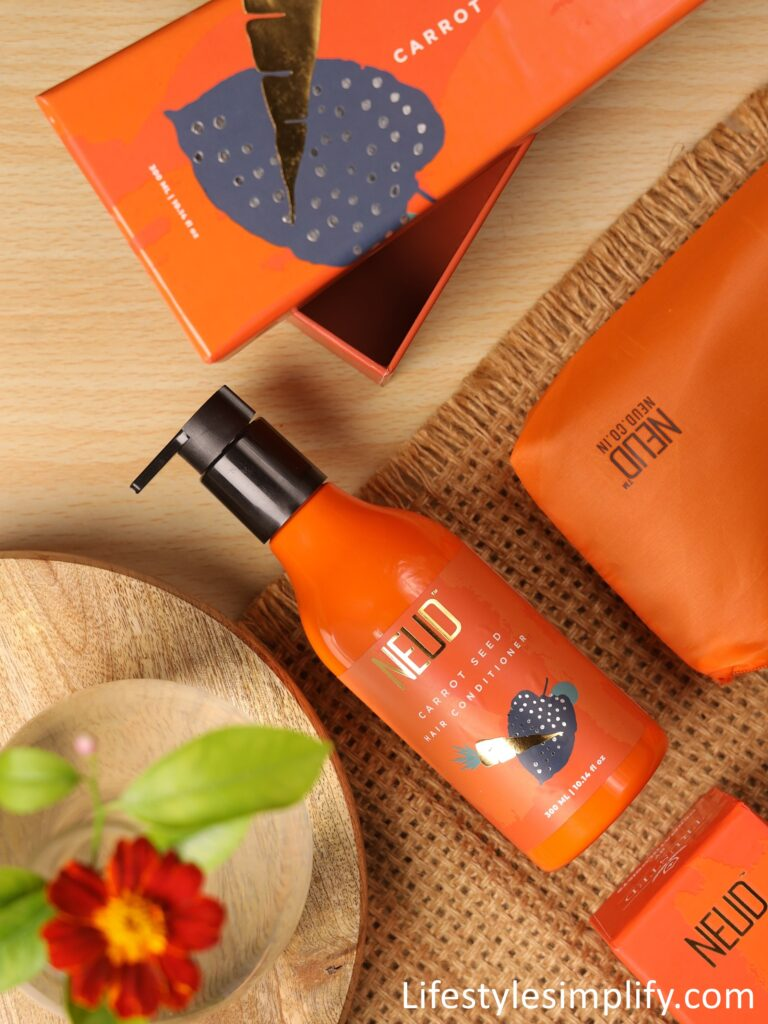 NEUD Carrot Seed Hair Conditioner Review