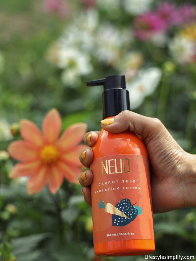 NEUD Carrot Seed Hydrating Lotion Review