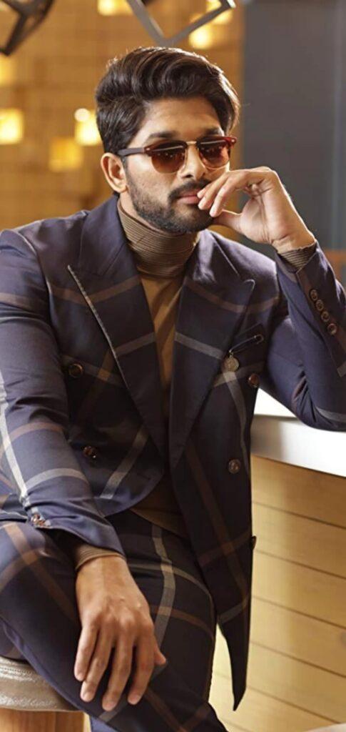 allu arjun formal dressing style
