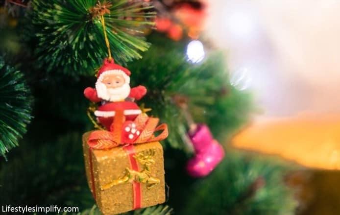 Santa Claus Christmas Tree Topper